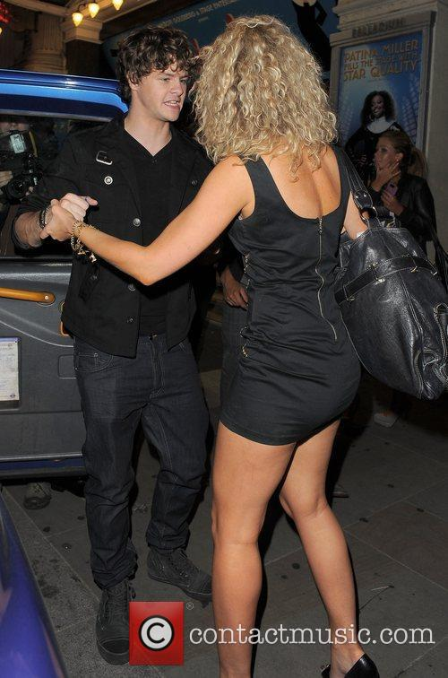 Jay McGuiness of The Wanted enjoys some female...