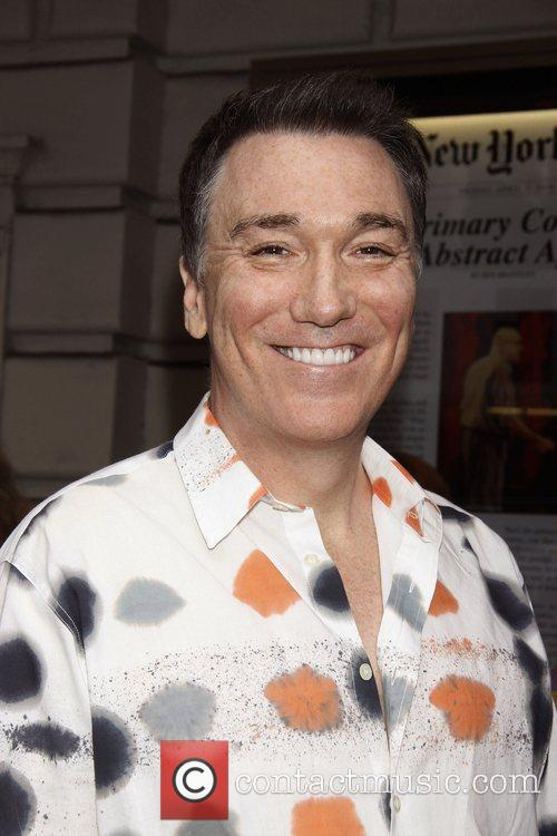 Patrick Page attending a matinee performance of the...