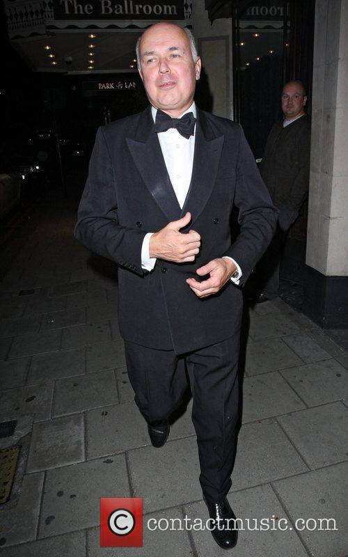 Ian Duncan Smith leaving the Dorchester Hotel London,...