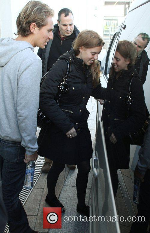 Princess Beatrice leaving the Hilton hotel  Liverpool,...