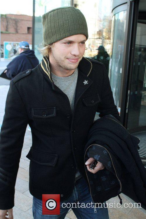 Sam Branson 'Famous and Fearless' contestants leaving the...