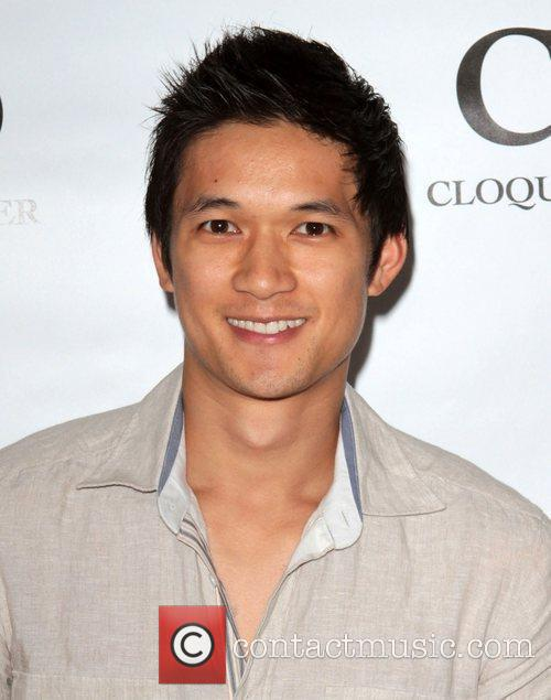 Harry Shum visits Gifting Services held at the...