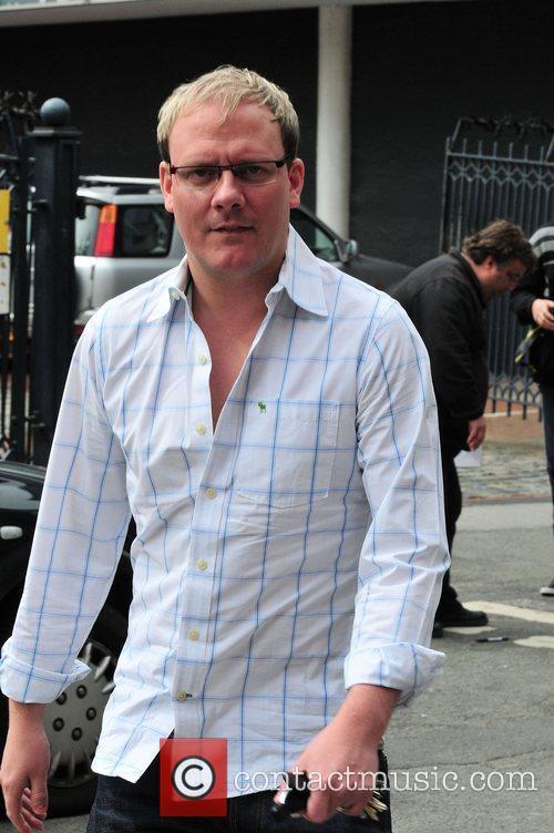 Antony Cotton  Coronation Street stars arriving at...