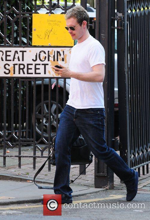 Ben Price Coronation Street stars arriving at the...