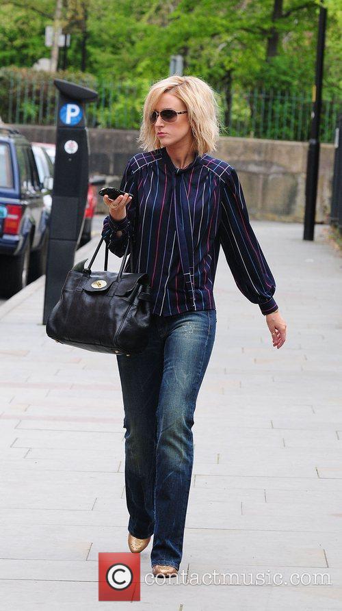 Coronation Street stars arriving at the Granada Television...