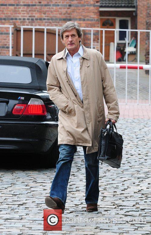 Nigel Havers Coronation Street stars arriving at the...