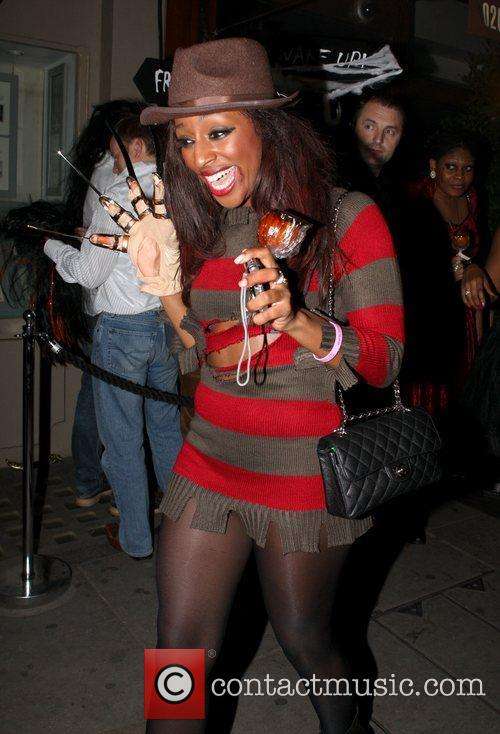 Alexandra Burke and Leaves 10