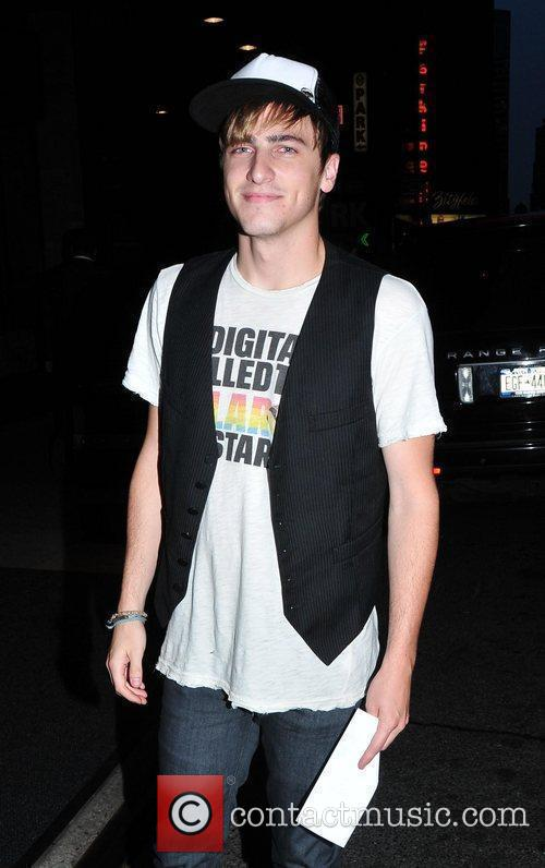 Kendall Schmidt of 'Big Time Rush' arrives at...