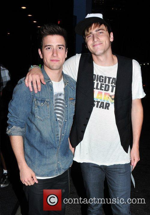 Logan Henderson and Kendall Schmidt of 'Big Time...