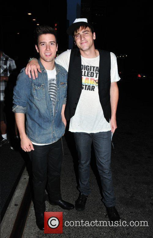 Logan Henderson and Kendall Schmidt Of 'big Time Rush' 3