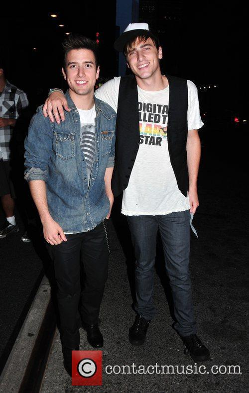 Logan Henderson and Kendall Schmidt Of 'big Time Rush' 4