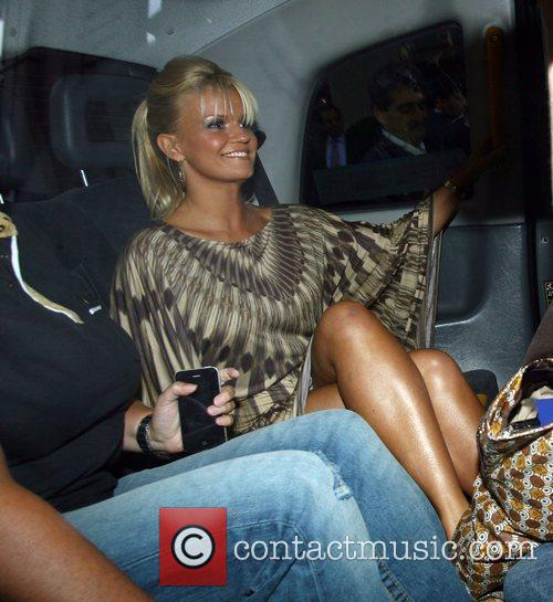 Celebrities leaving the Dorchester hotel and heading to...