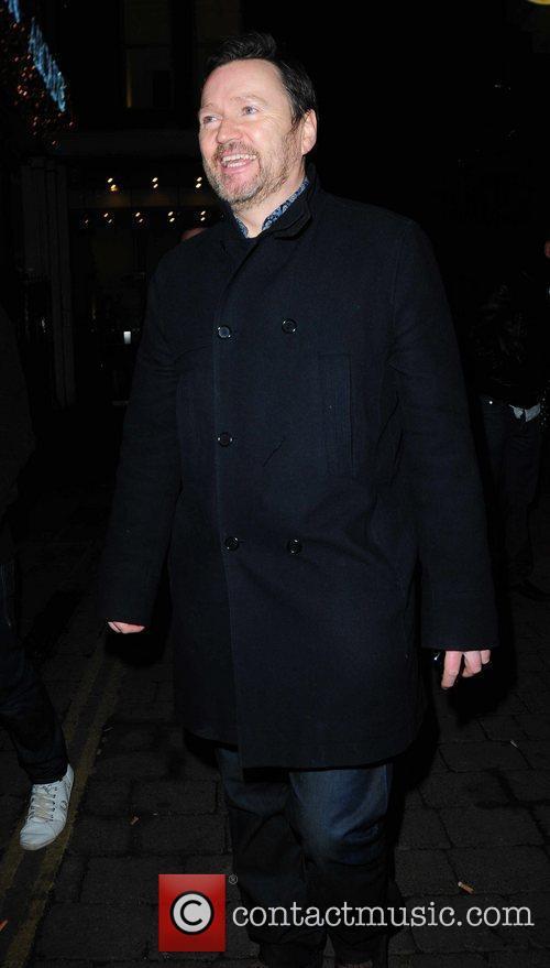 Ian Pulston Davies arrives at Circle Bar Coronation...