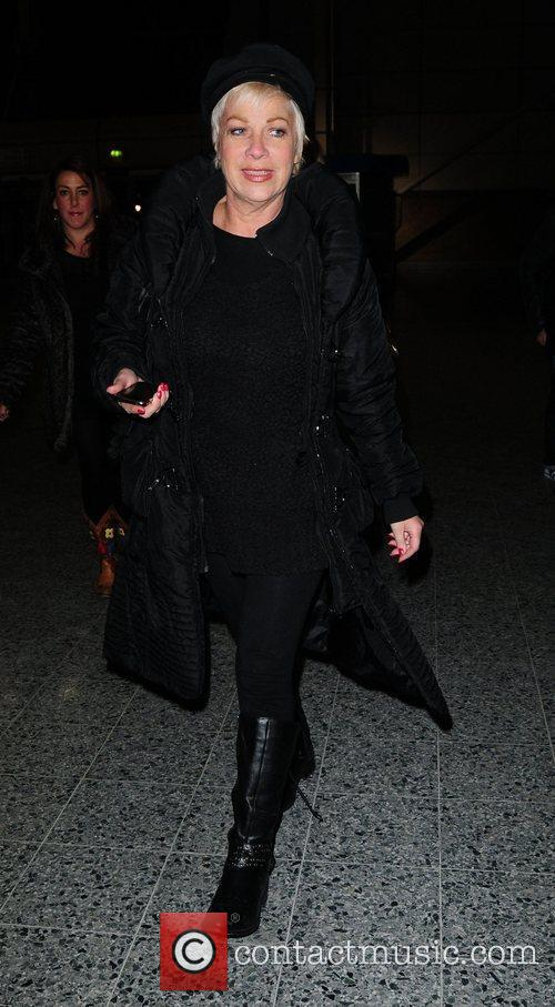 Denise Welch arrives to watch Peter Andre at...