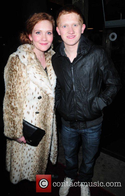 Sam Aston and Jenny McAlpine arrives at Circle...