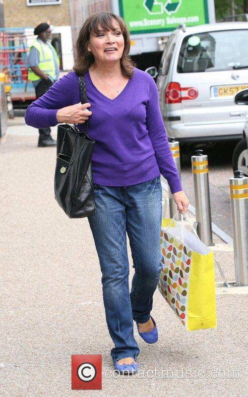 Lorraine Kelly outside the ITV studios  London,...