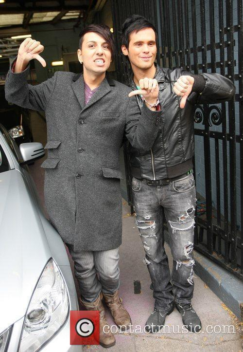 X Factor evictees Josef Al-Smadi and Craig Saggers...
