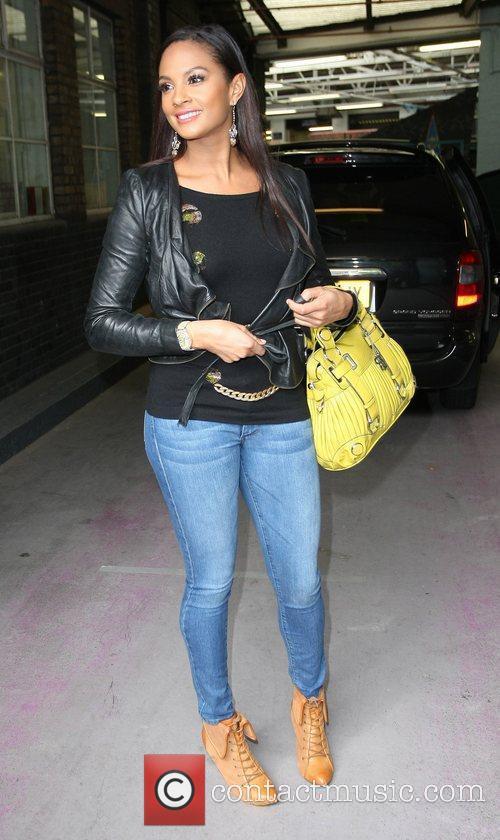 Alesha Dixon outside the ITV studios  London,...