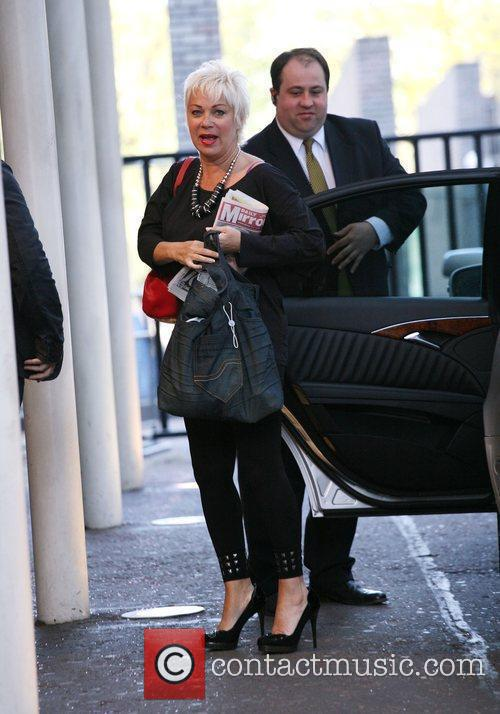 Arrives at the ITV studios