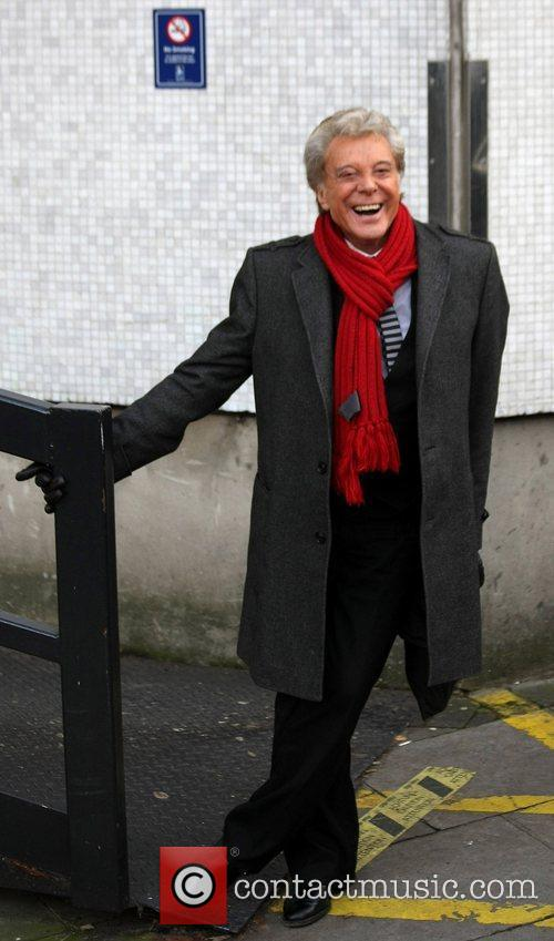 Lionel Blair  Celebrities outside the ITV television...