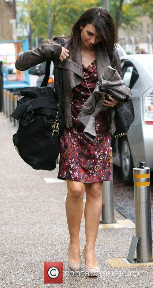 Christine Bleakley and Leaves 6