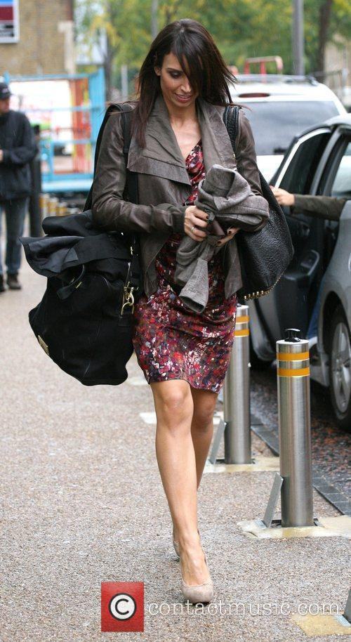 Christine Bleakley and Leaves 2