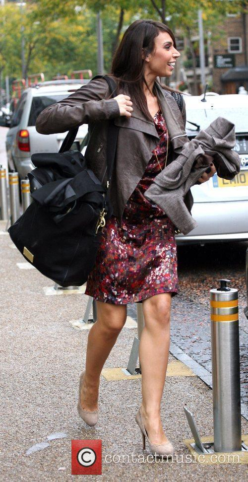 Christine Bleakley and Leaves 10