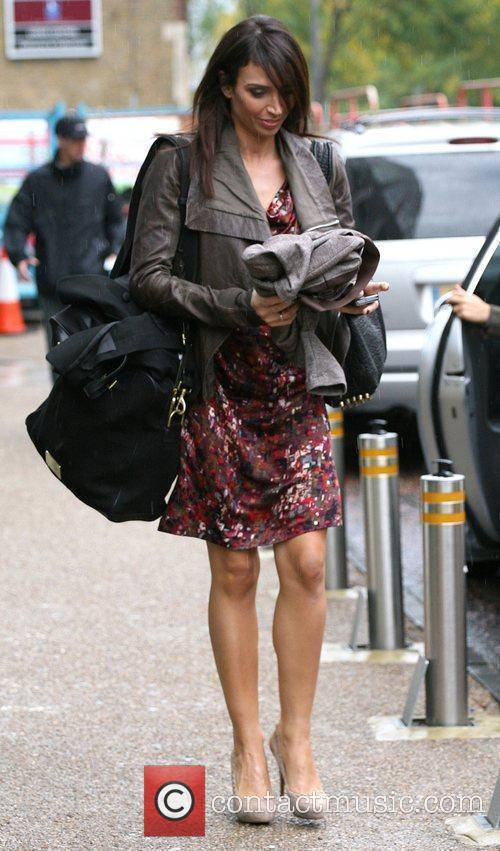 Christine Bleakley and Leaves 4