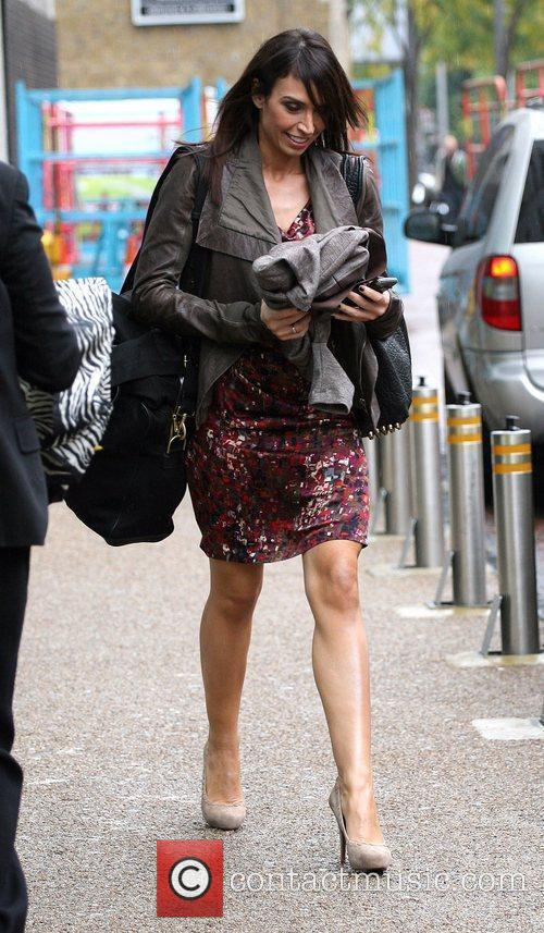 Christine Bleakley and Leaves 8