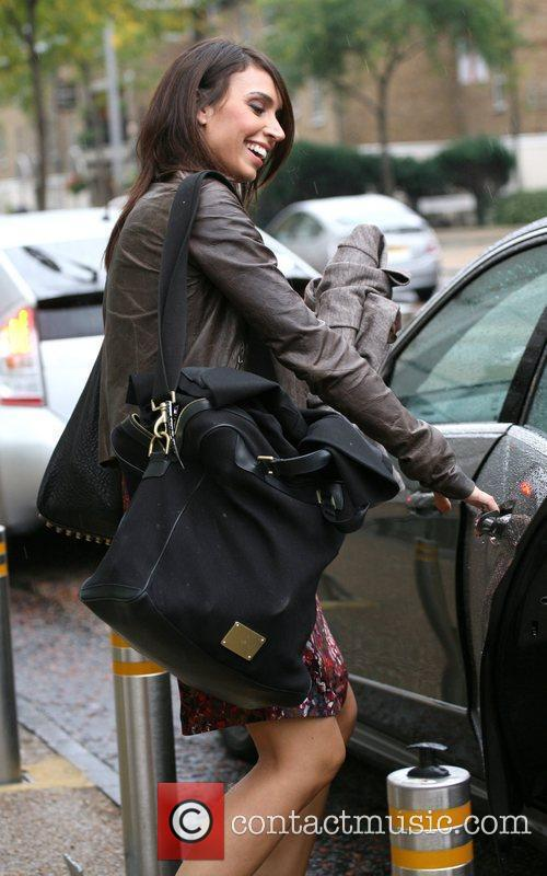 Christine Bleakley and Leaves 5