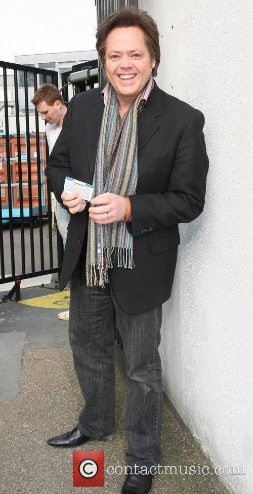 Jimmy Osmond Celebrities outside the ITV television studios....