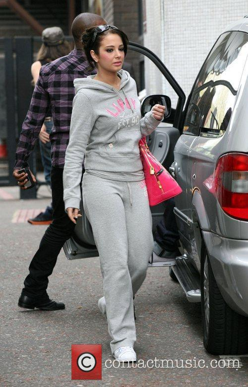 Tulisa N-Dubz leave the ITV studios after appearing...