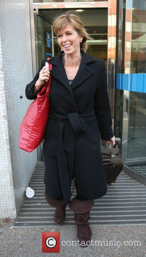 Kate Garraway Celebrities outside the ITV television studios....