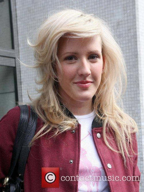 Leaves the ITV studios after performing on 'GMTV'