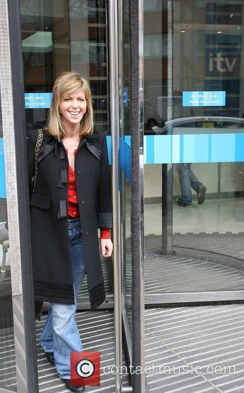 Kate Garraway Celebrities outside the ITV television studios...