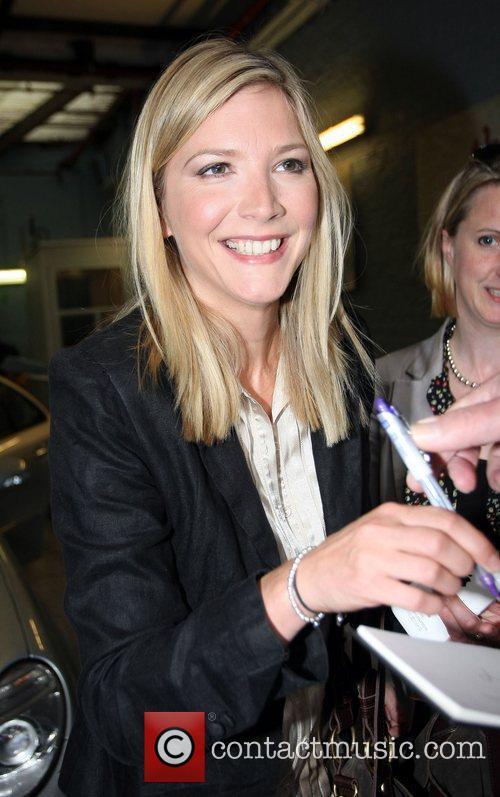 Lisa Faulkner leaves the ITV studios London, England