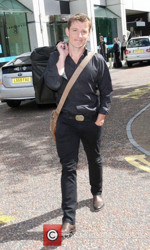 Ben Shephard  outside the ITV studios London,...