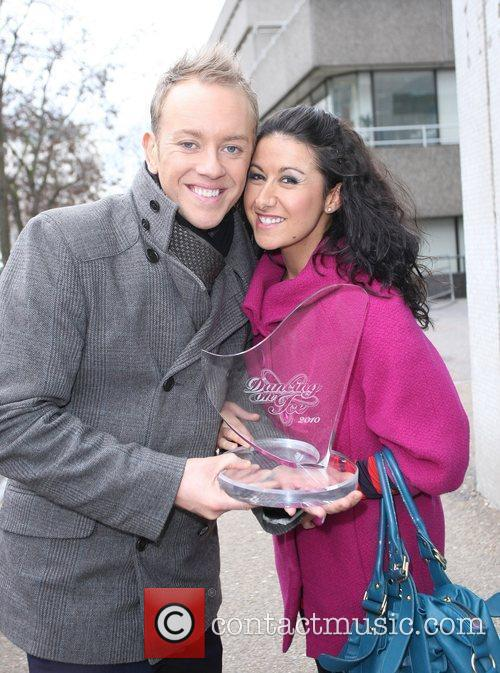 Outside the ITV studios the day after their...