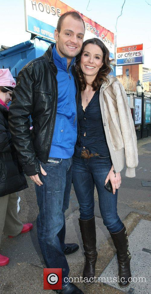 Tana Ramsay and Danny Young Celebrities outside the...