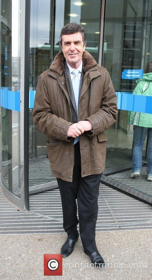 John Stapleton Celebrities outside the ITV television studios....