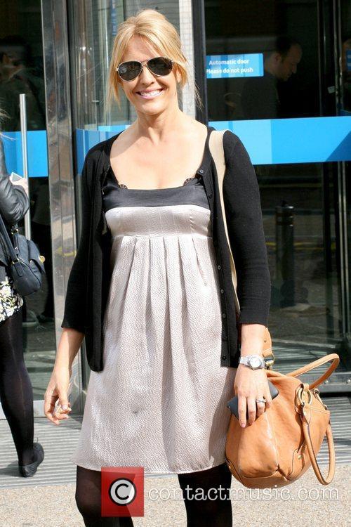 Helen Fospero English television newsreader and journalist leaving...