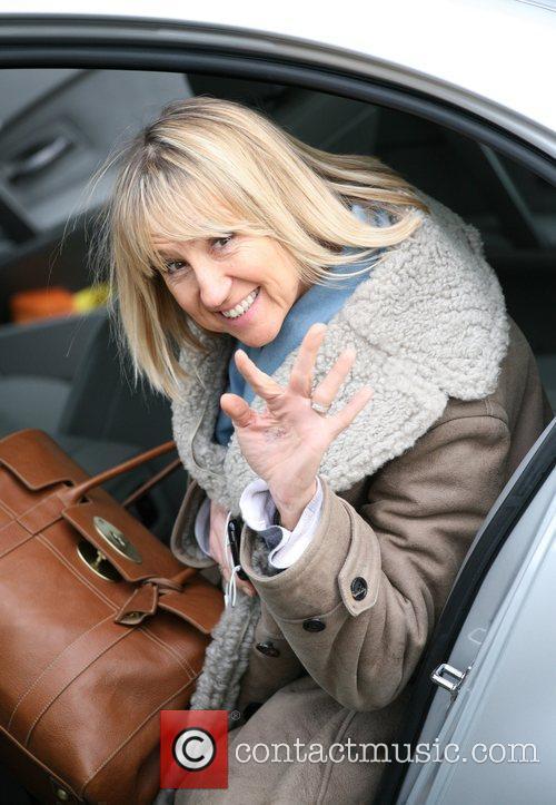 Carol McGiffin Celebrities outside the ITV television studios....