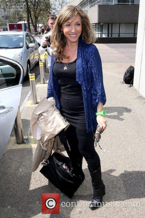 Tracy-Ann Oberman outside the ITV studios London, England