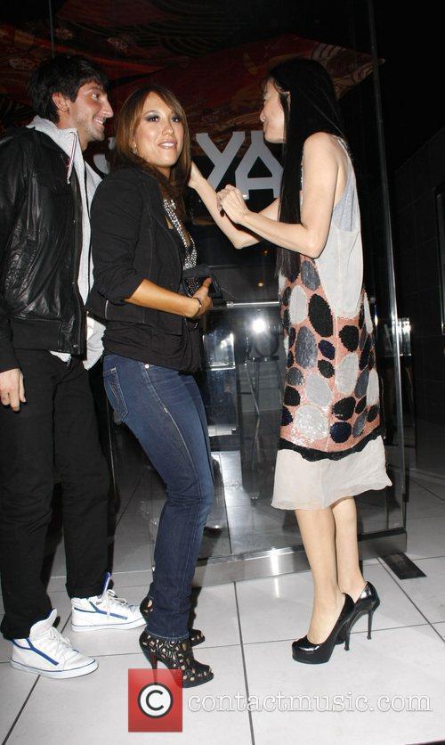 Cheryl Burke and Vera Wang 2