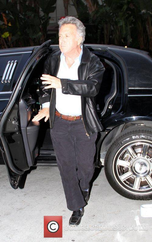 Dustin Hoffman Celebrities arrive at the Staples Center...