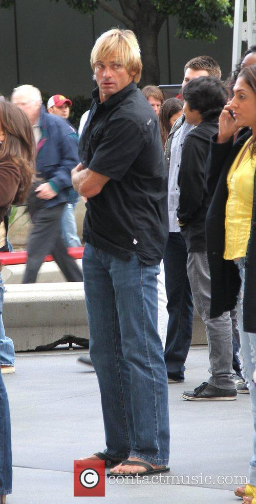 Laird Hamilton Celebrities arrive at the Staples Center...