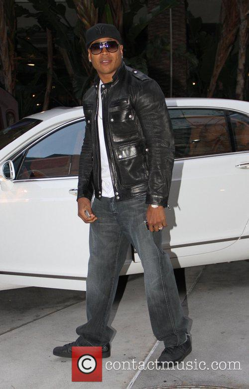 LL Cool J Celebrities arrive at the Staples...