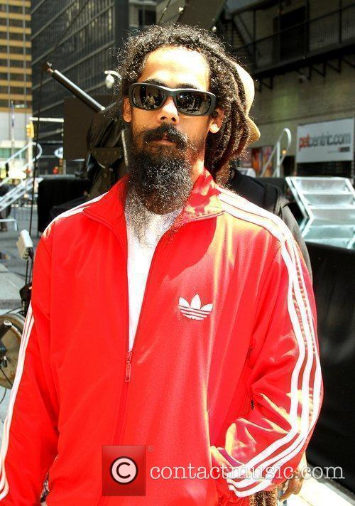 Damian Marley and David Letterman 1
