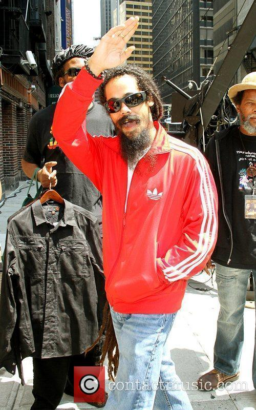 Damian Marley and David Letterman 4