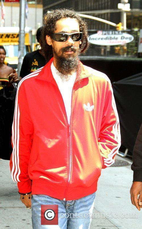 Damian Marley and David Letterman 2